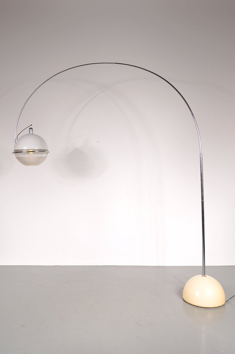 Fucos Arc Lampe von Fabio Lenci für Guzzini, 1960er