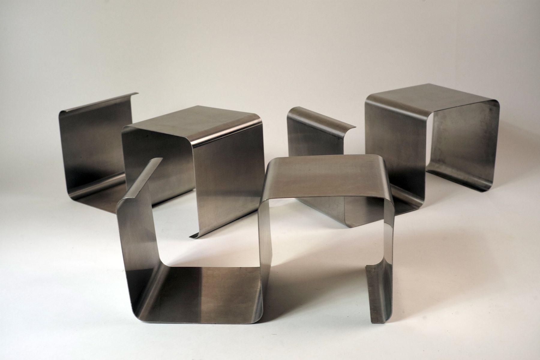Unità di mensole impilabili in acciaio inossidabile di kappa