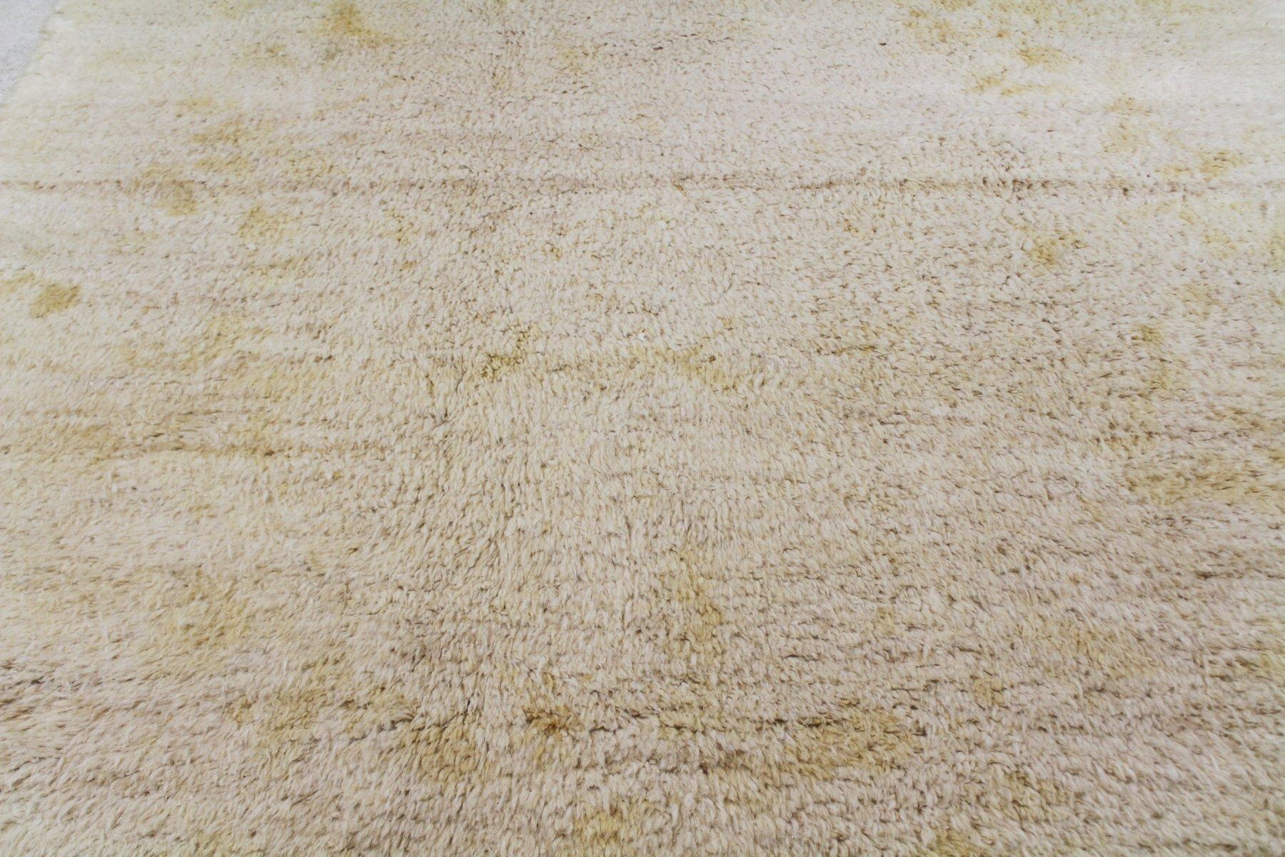 beni ourain goldener cremefarbene marokkanischer teppich. Black Bedroom Furniture Sets. Home Design Ideas