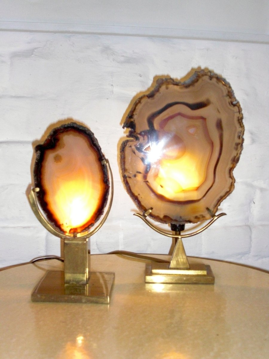 Vintage Tischlampen von Willy Daro, 2er Set