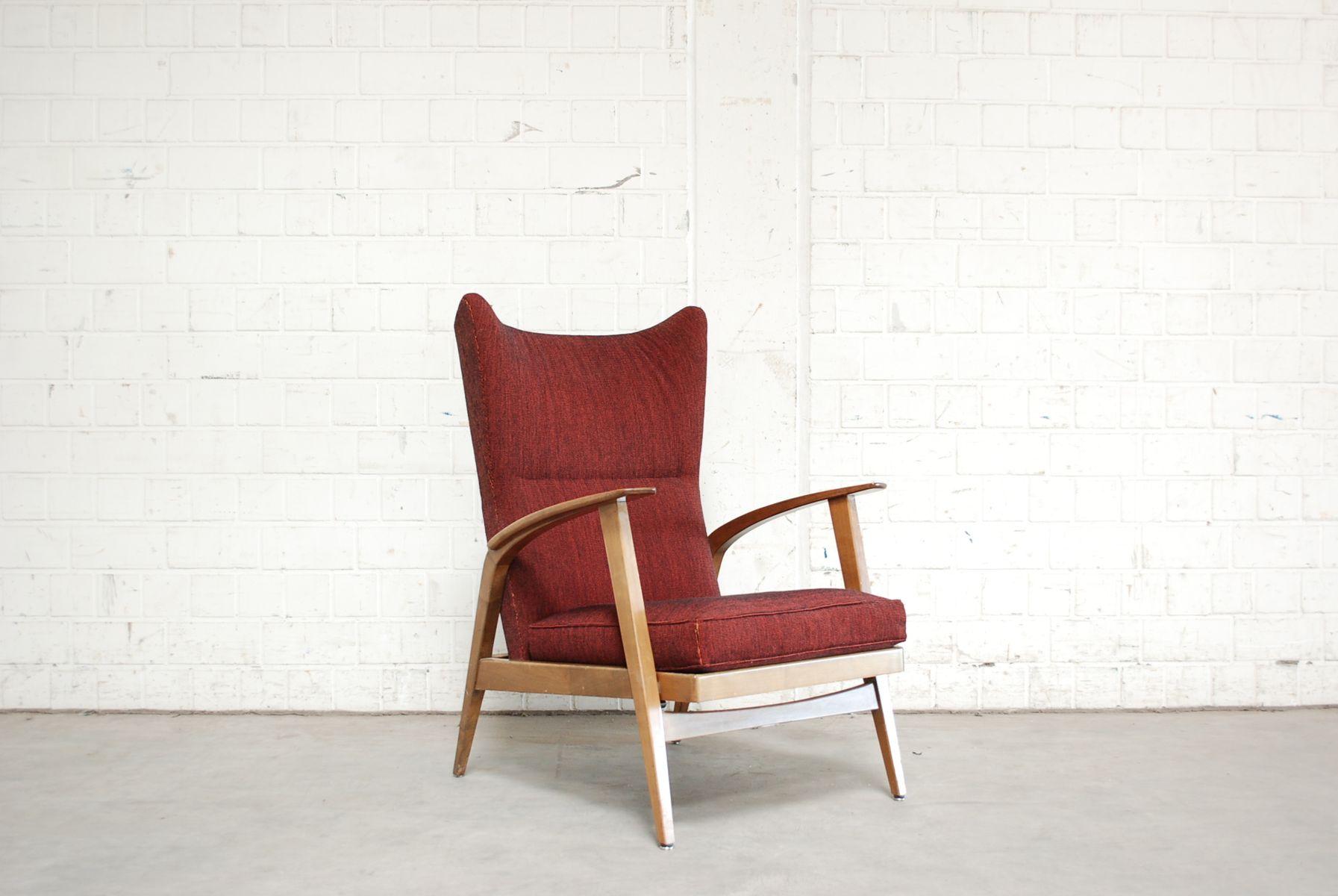 fauteuil oreilles inclinable de knoll 1965 en vente sur. Black Bedroom Furniture Sets. Home Design Ideas