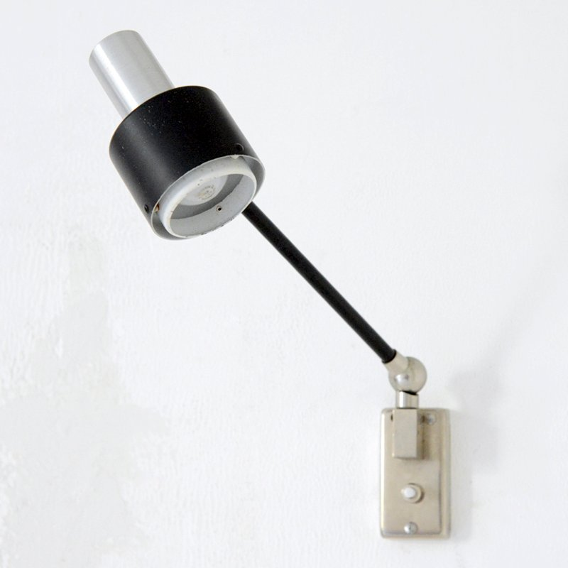 Verstellbare Vintage Wandlampe von Stilnovo