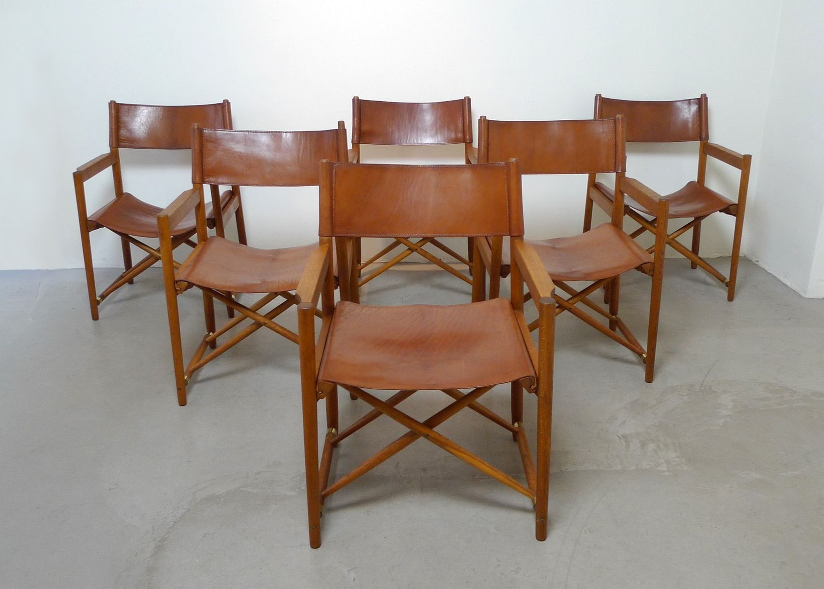 Image of: Safari Style Furniture Inside Midcentury Danish Folding Safaristyle Chair 1960s For Sale At Pamono