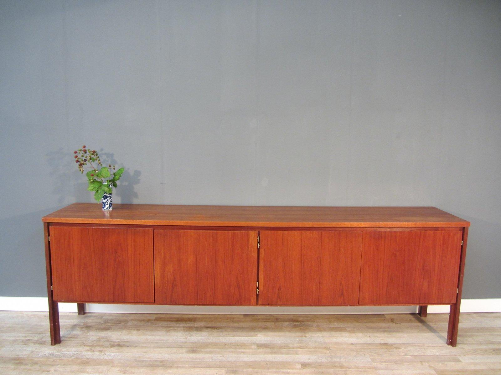 Deutsches Mid-Century Teak Sideboard, 1950er