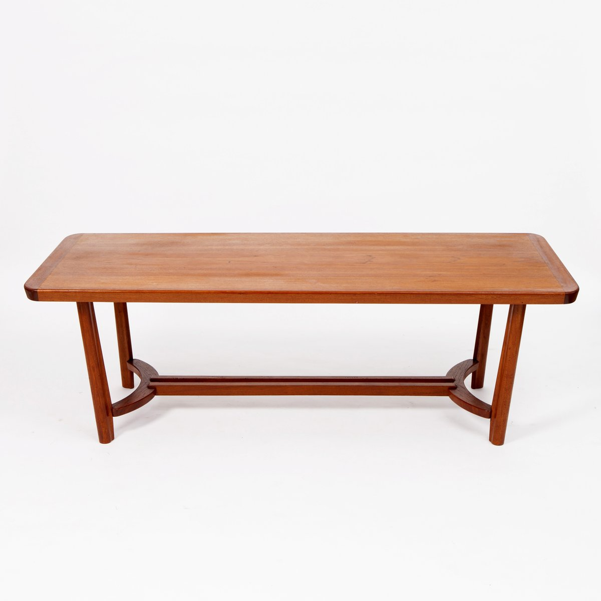 Mid-Century Scandinavian Teak Coffee Table For Sale At Pamono