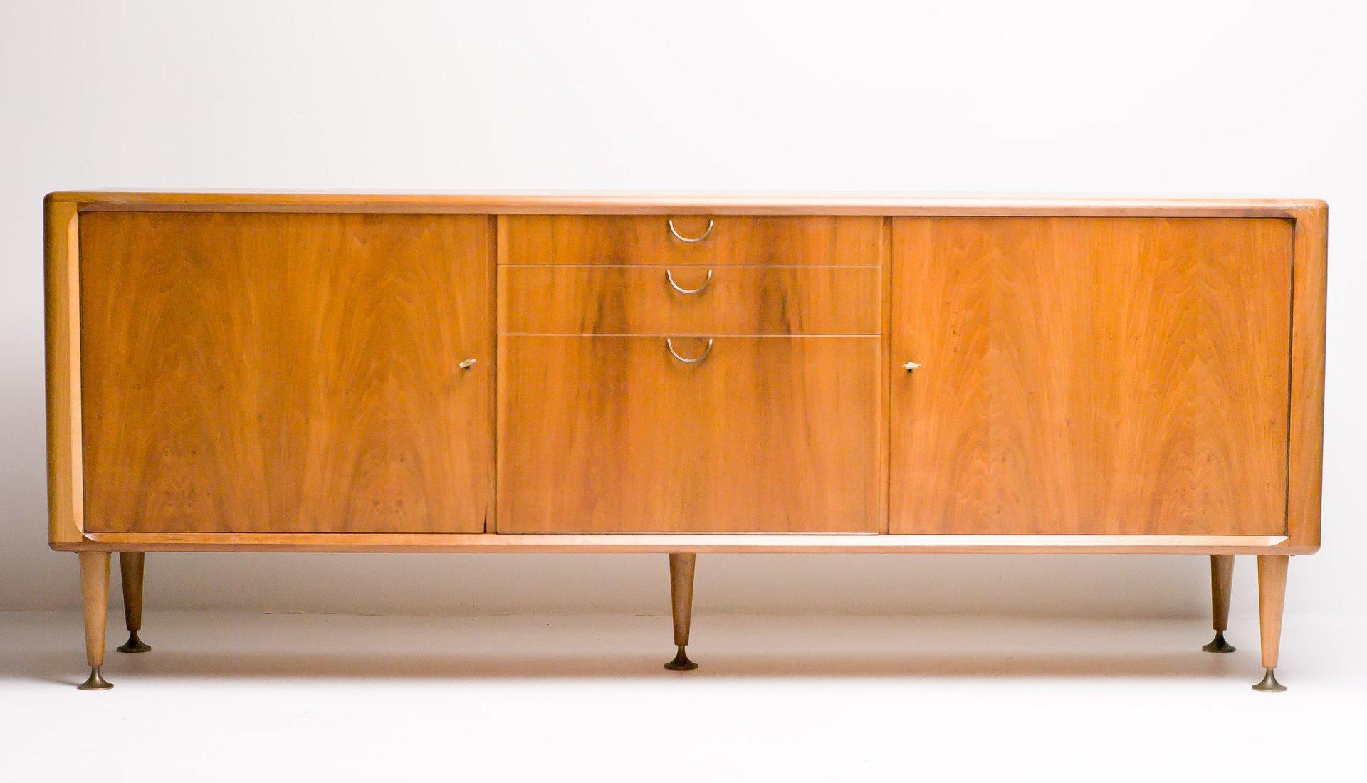 Fabelhaft Sideboard Modern Referenz Von Mid-century Dutch Walnut By A. A. Patijn