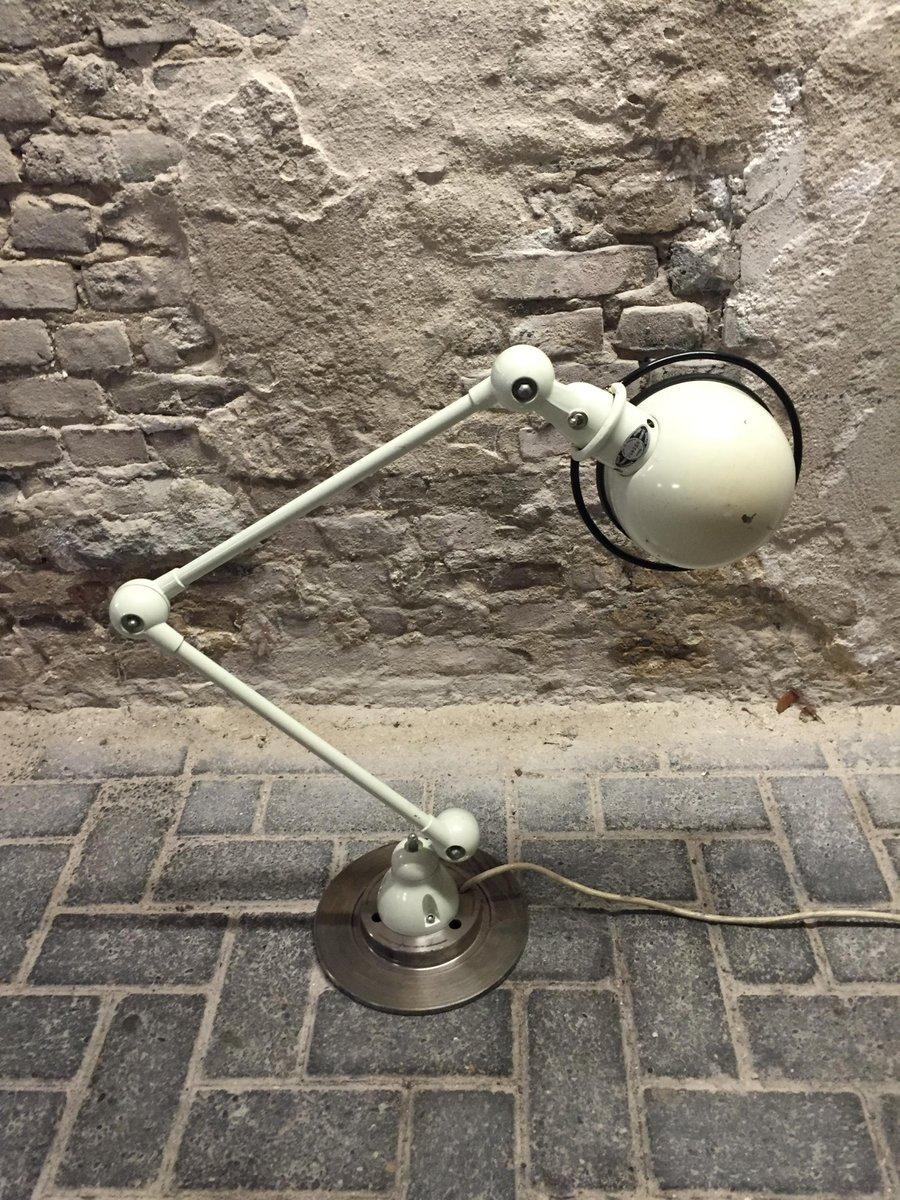 lampe industrielle par jean louis domecq pour jielde france 1950s en vente sur pamono. Black Bedroom Furniture Sets. Home Design Ideas
