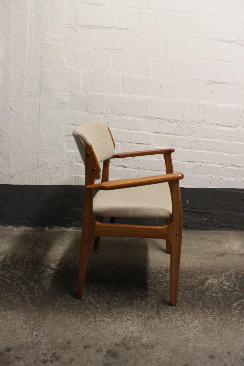 d nischer mid century modell 49 stuhl von erik buch f r o d mobler as 1960er bei pamono kaufen. Black Bedroom Furniture Sets. Home Design Ideas