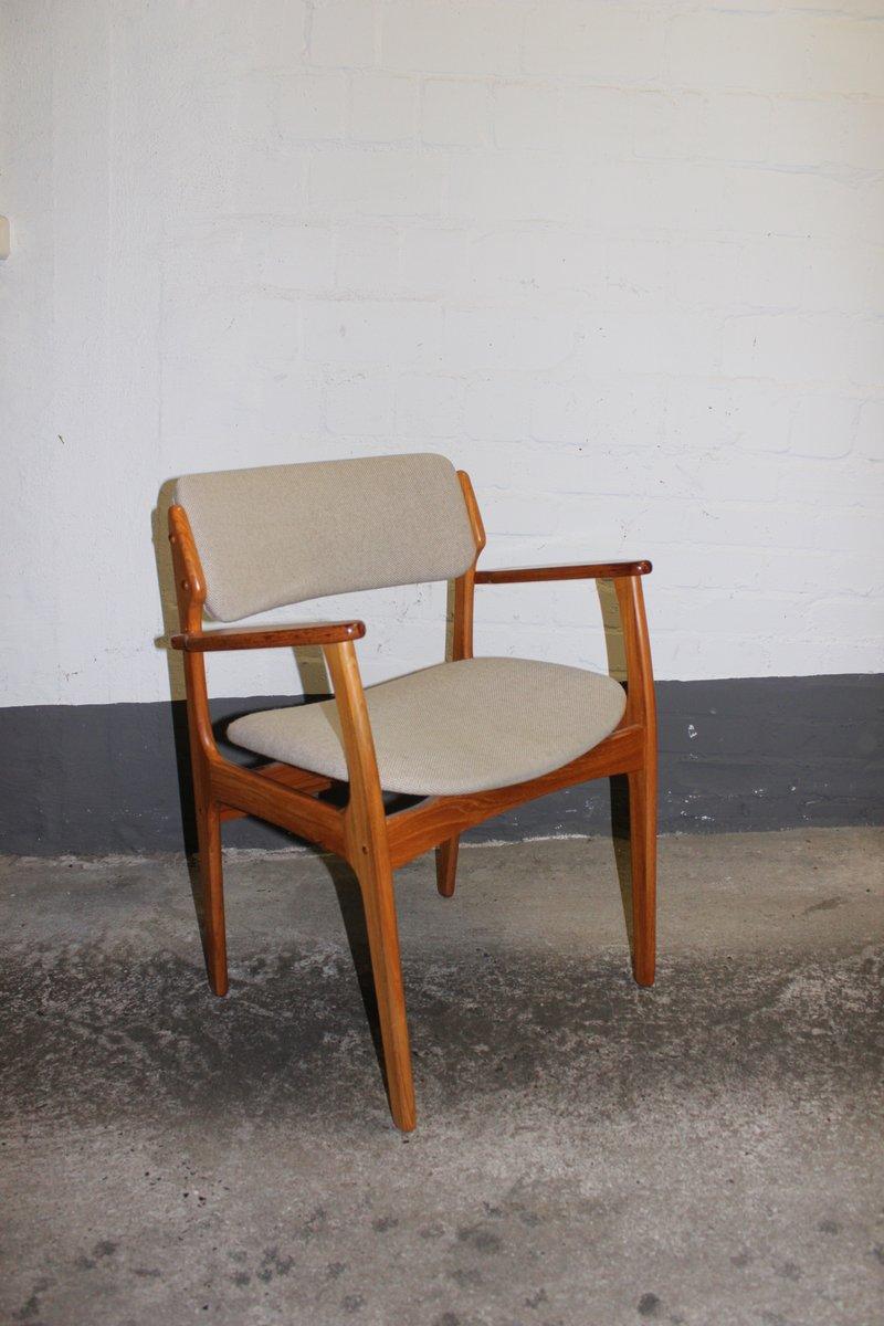 d nischer mid century modell 49 stuhl von erik buch f r o. Black Bedroom Furniture Sets. Home Design Ideas