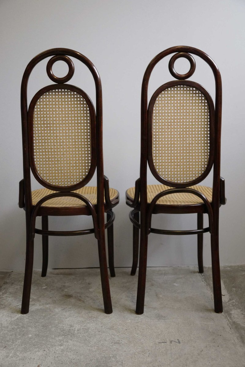 Art Nouveau Bentwood Dining Chairs From Salvatore Leone, Set Of 2