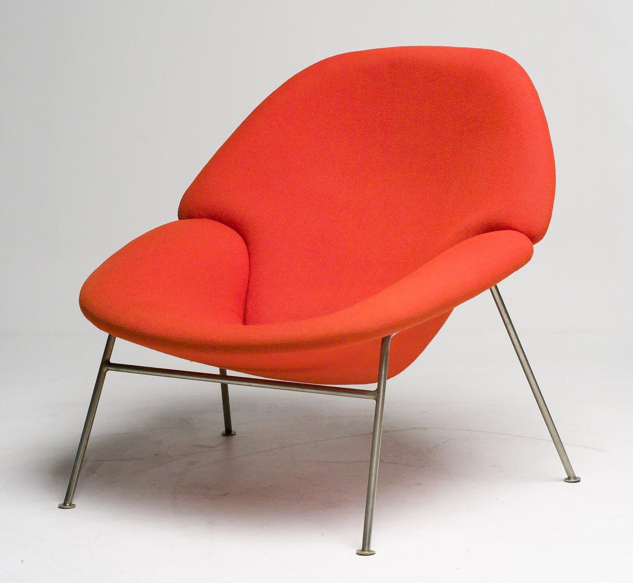 vintage f555 sessel von pierre paulin f r artifort bei pamono kaufen. Black Bedroom Furniture Sets. Home Design Ideas