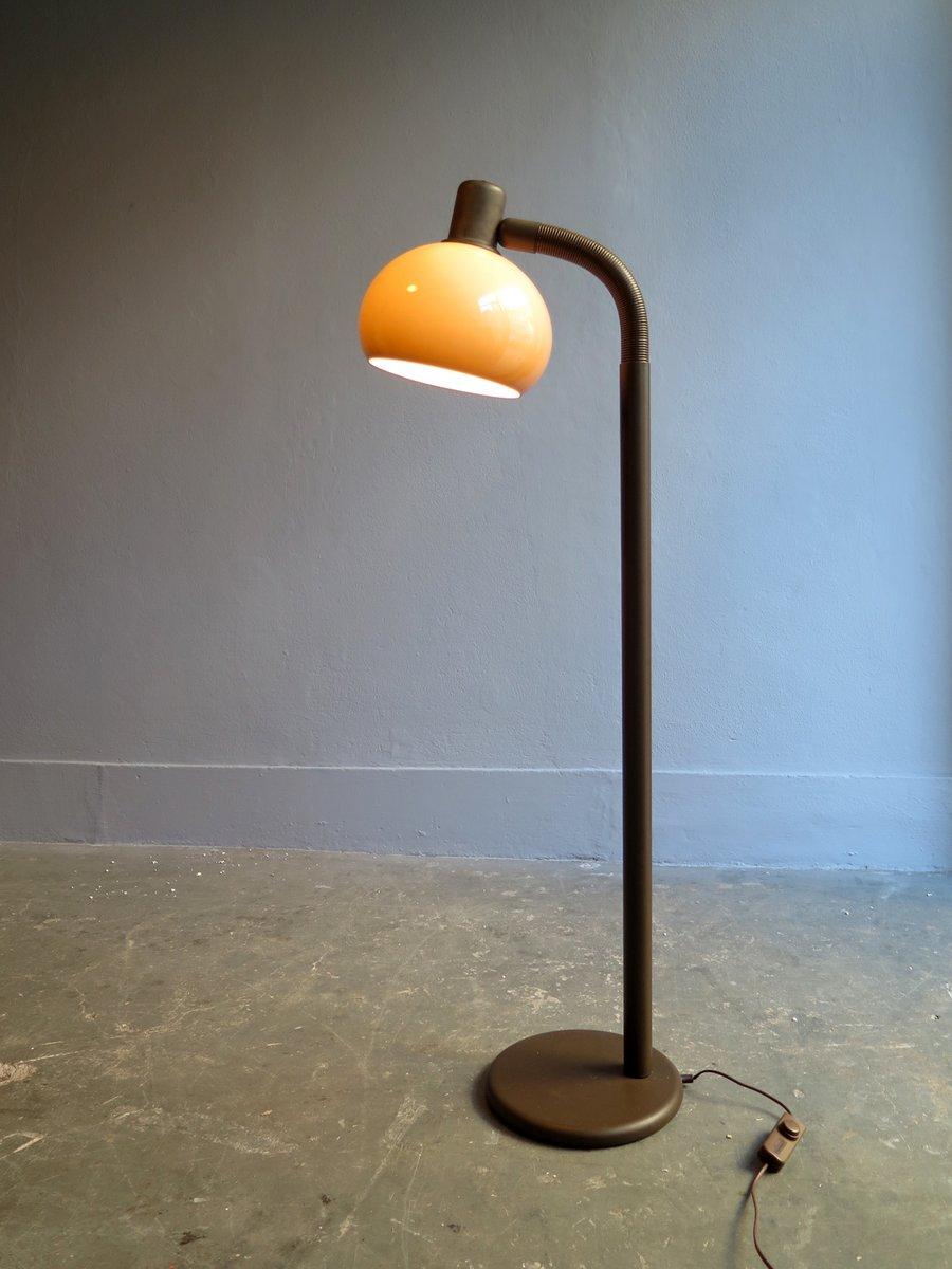 Stehlampe aus Metall mit Flexiblem Arm