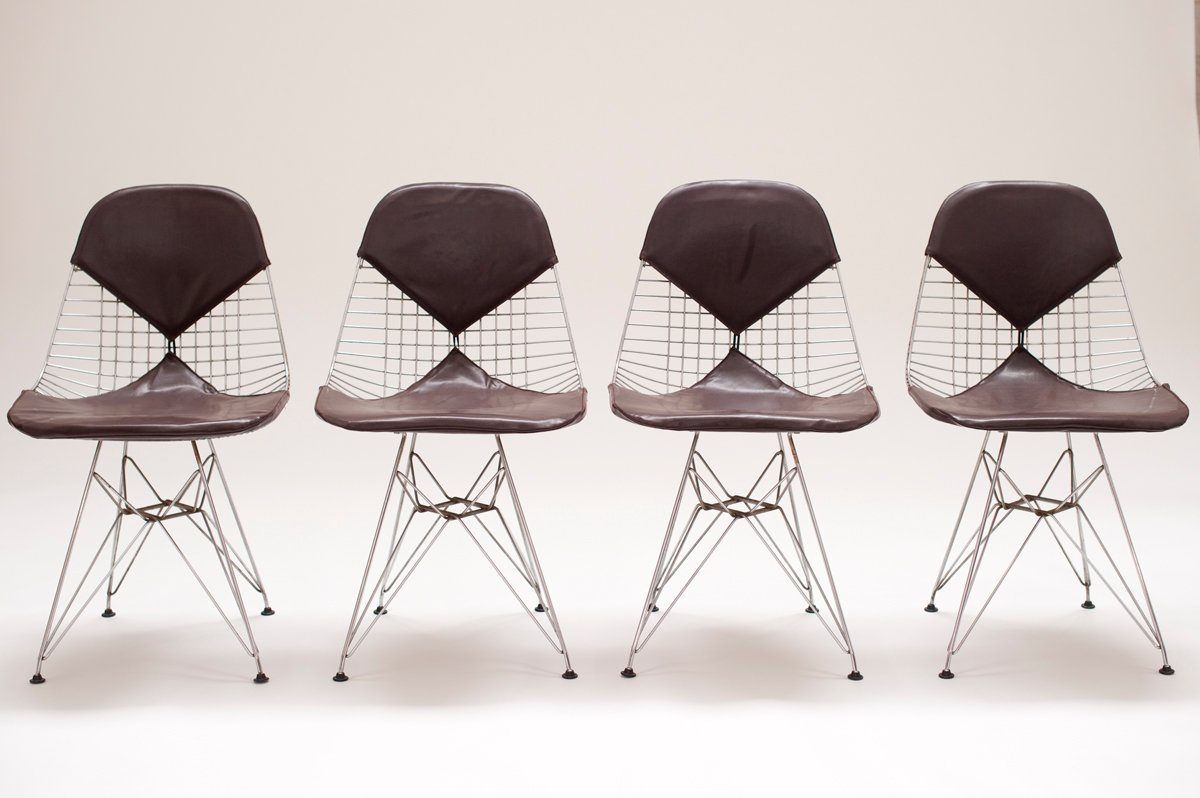 Dkr 2 Chairs By Charles Amp Ray Eames For Herman Miller