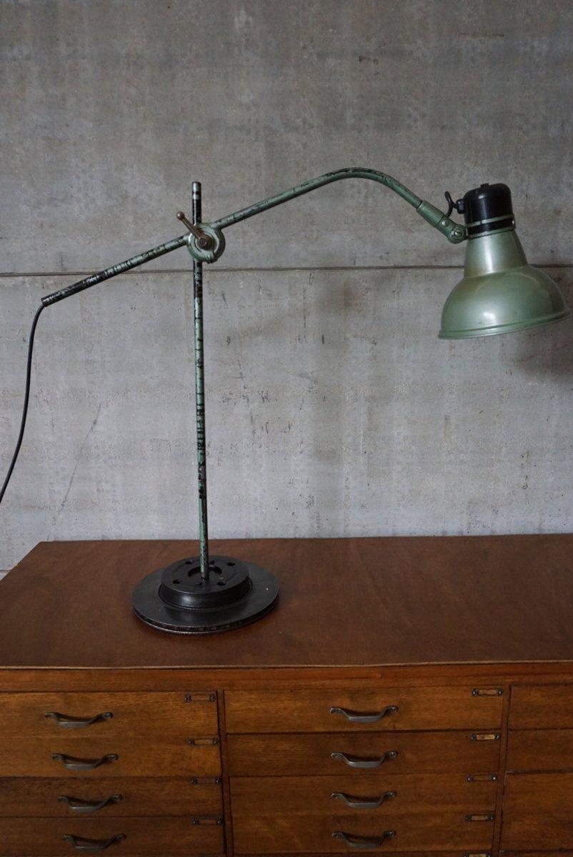 Industrielle Belgische Tischlampe von Erpe, 1950er