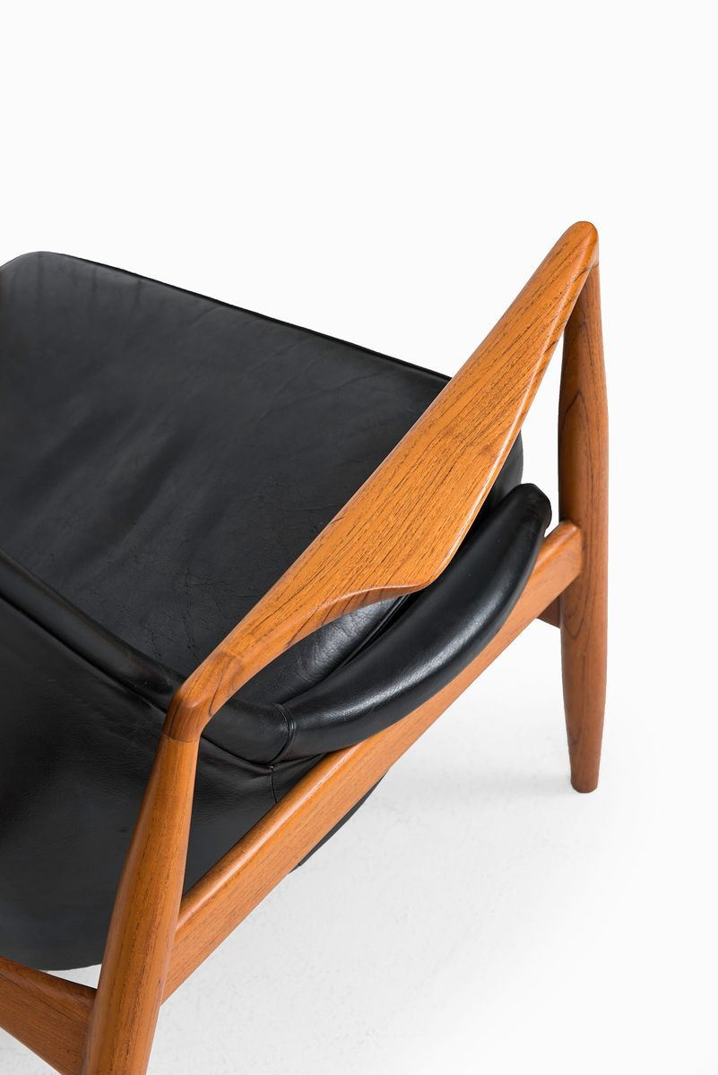 Seal Easy Chair By Ib Kofod Larsen For OPE, 1950s