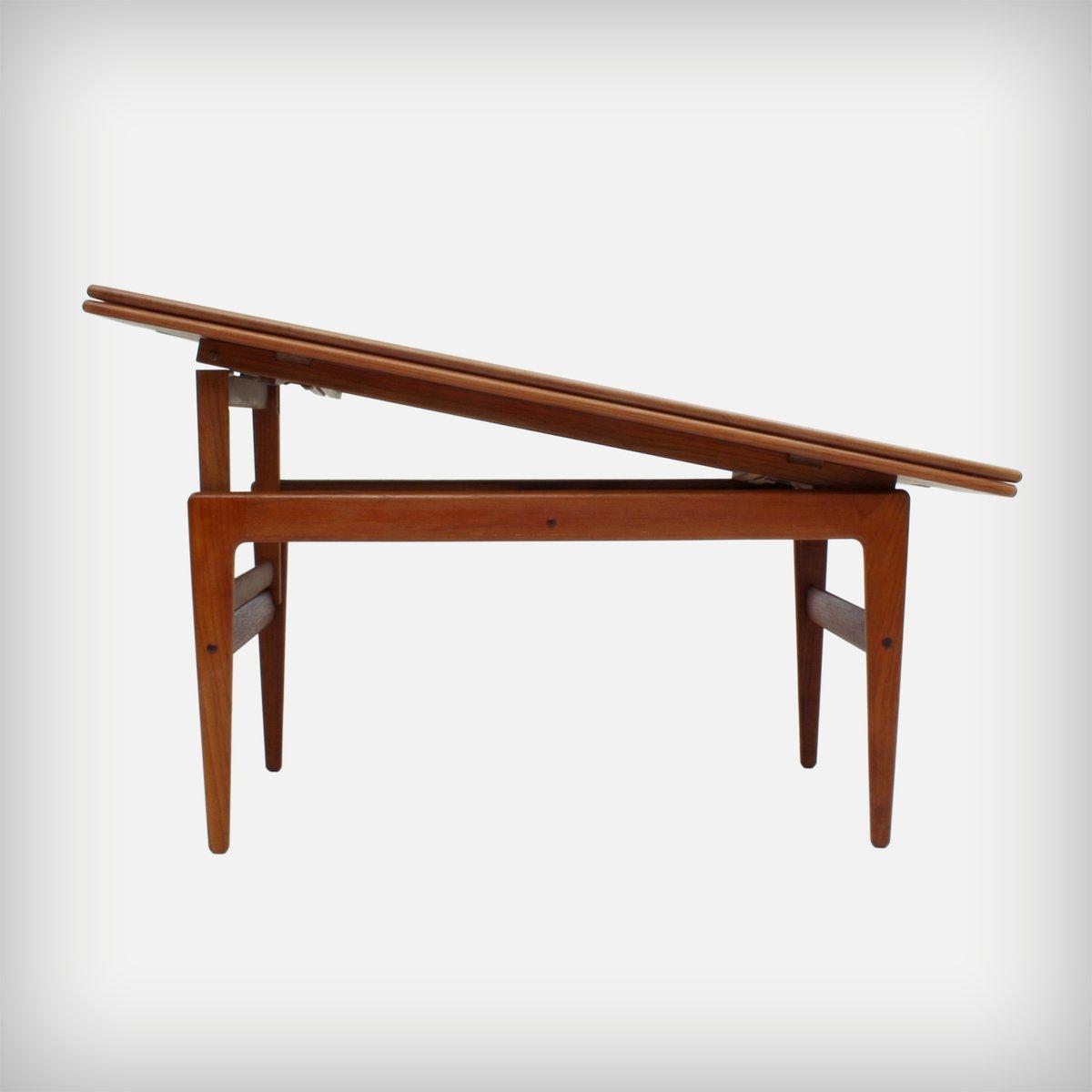 Mid-Century Metamorphic Coffee & Dining Table By Kai