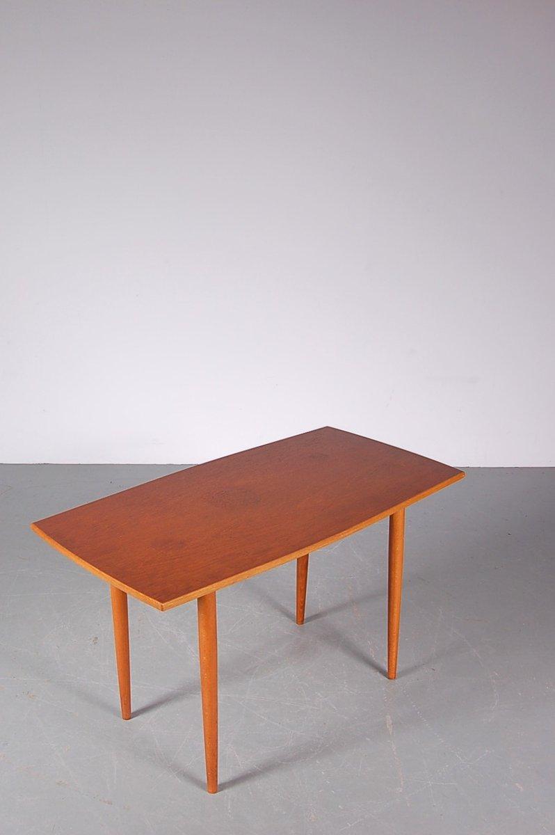 schwedischer teak birke couchtisch von tingstr ms 1950er bei pamono kaufen. Black Bedroom Furniture Sets. Home Design Ideas