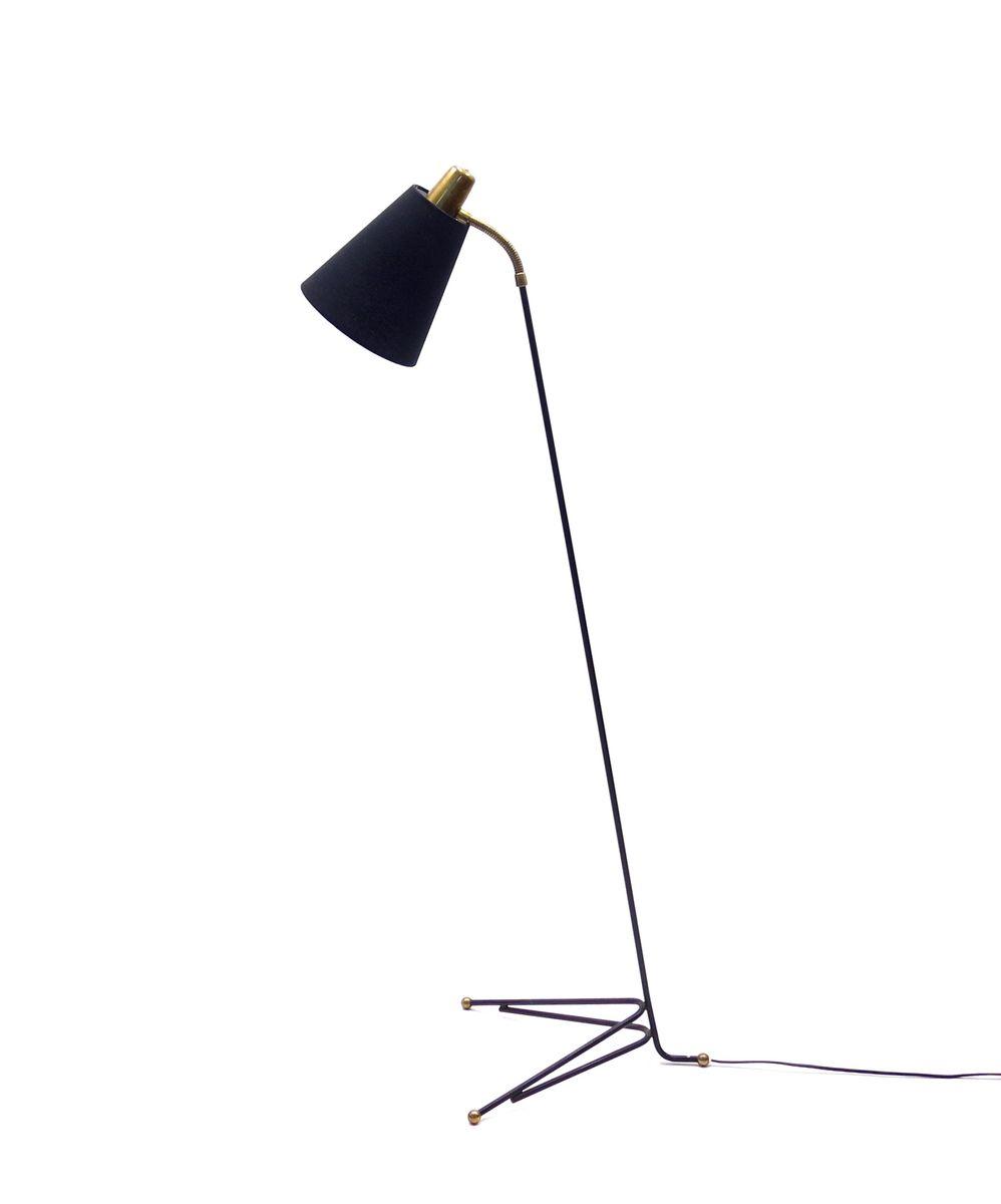 Dänische Stehlampe von Svend Aage Holm-Sørensen für Asea, 1950er