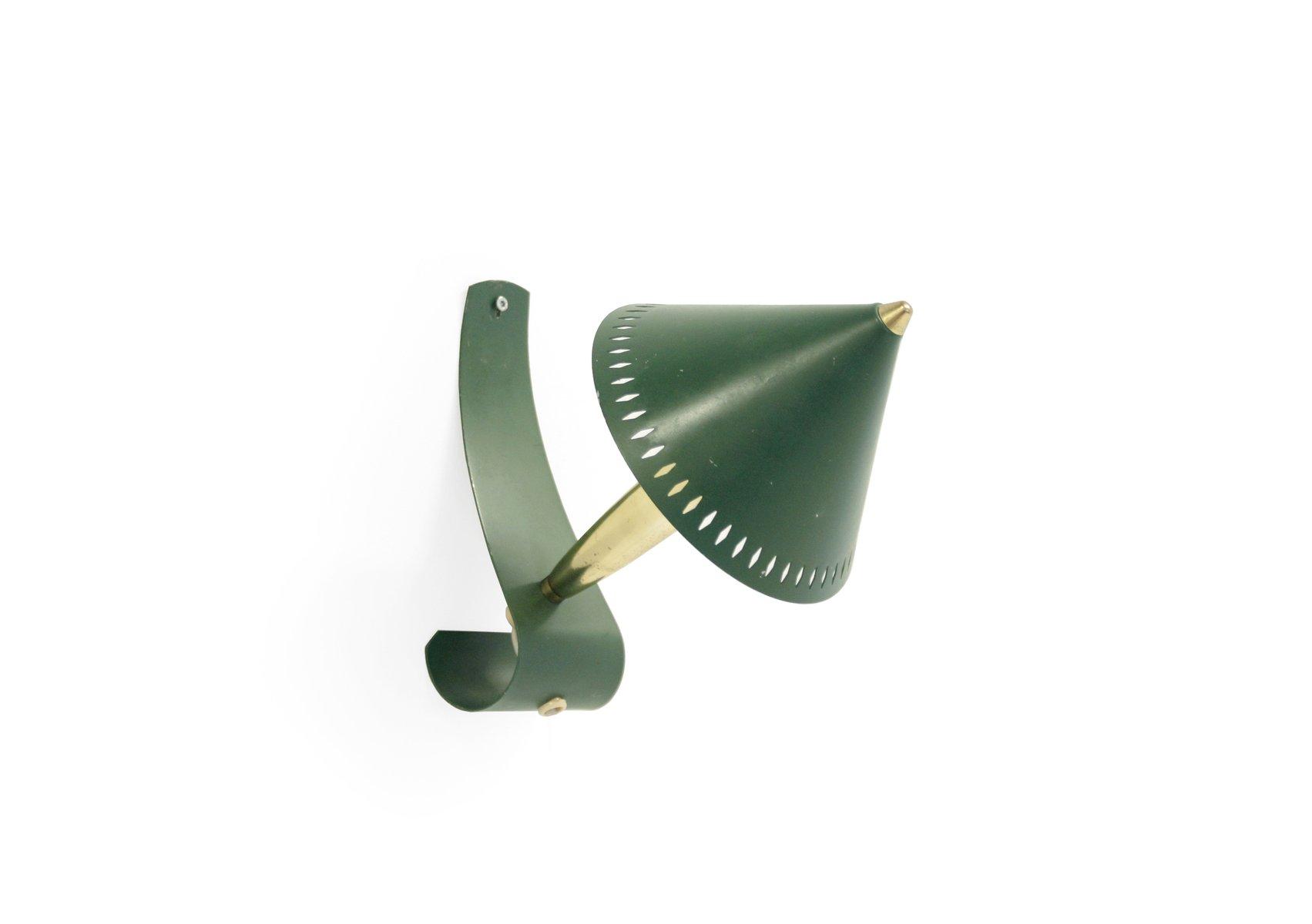 Schwedische Mid-Century Wandlampe, 1950er