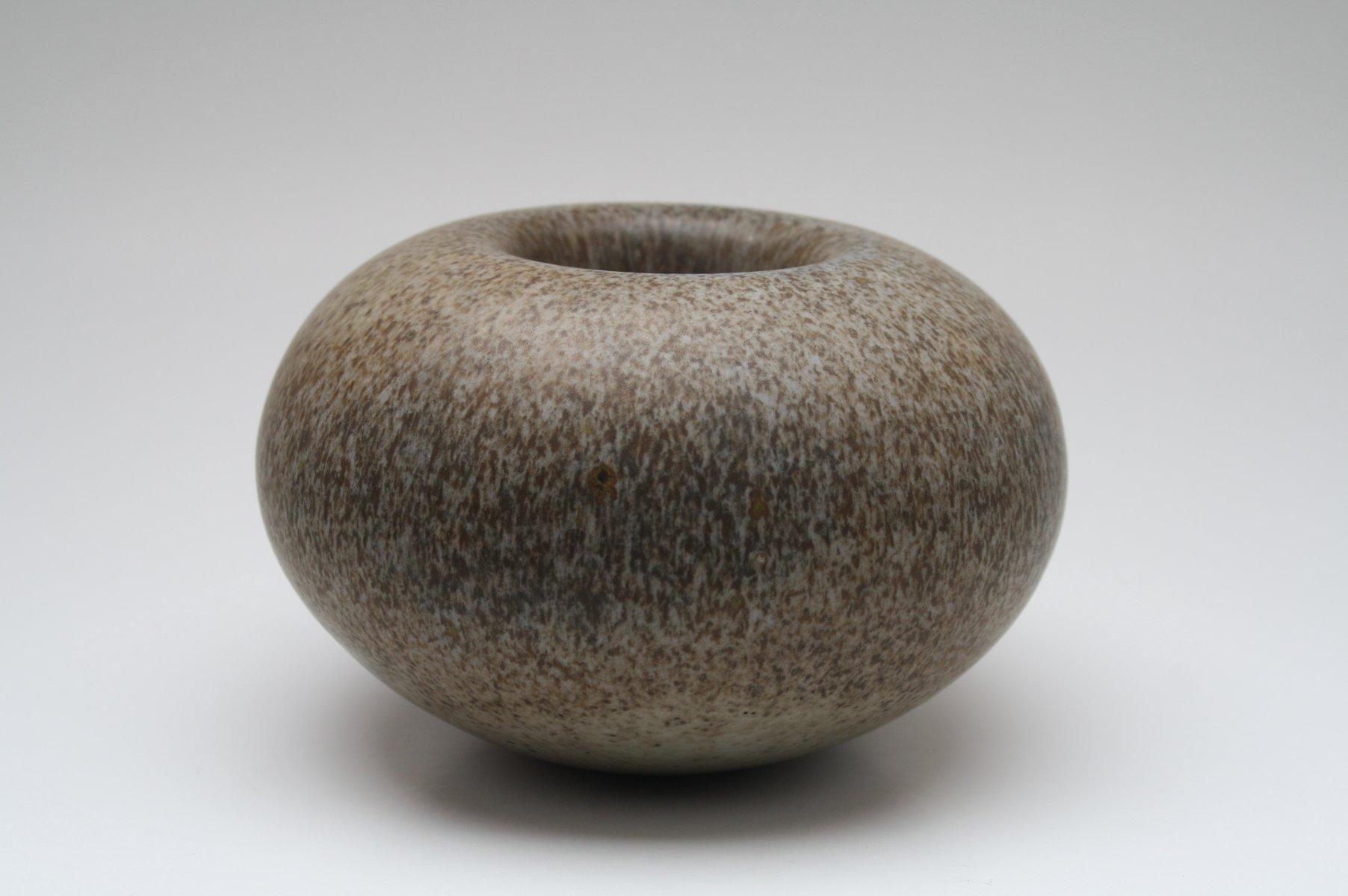 Deutsche Vase aus Keramik von Antje Wiewinner, ...