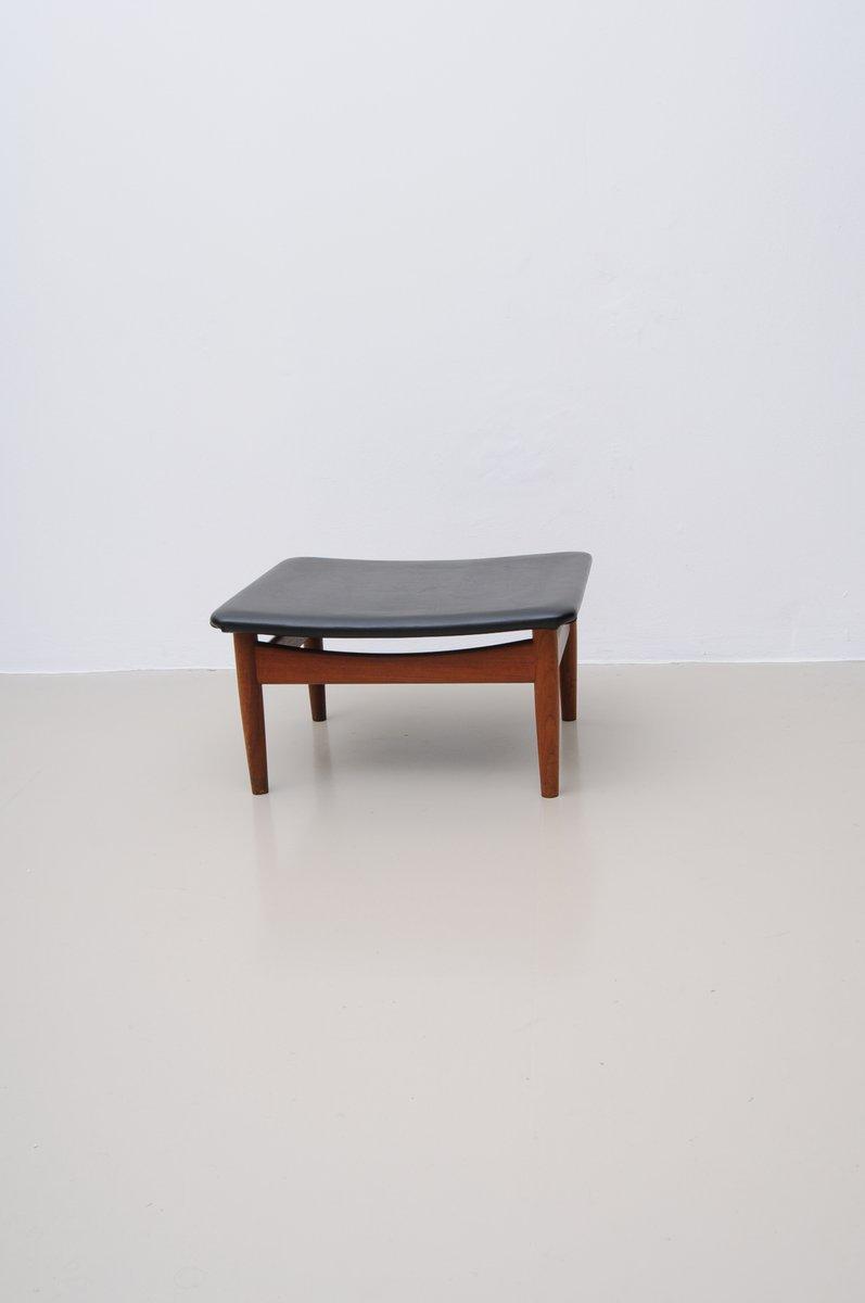 d nischer fd 137 japan series stuhl aus teakholz und skai von finn juhl 1950er bei pamono kaufen. Black Bedroom Furniture Sets. Home Design Ideas