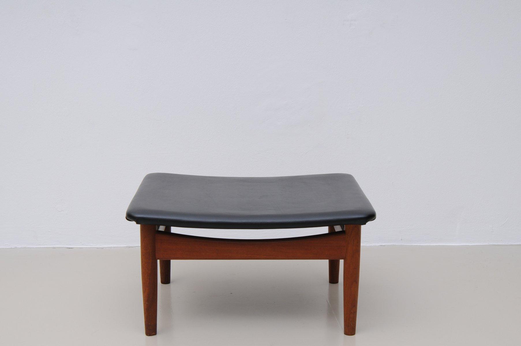d nischer fd 137 japan series stuhl aus teakholz und skai. Black Bedroom Furniture Sets. Home Design Ideas