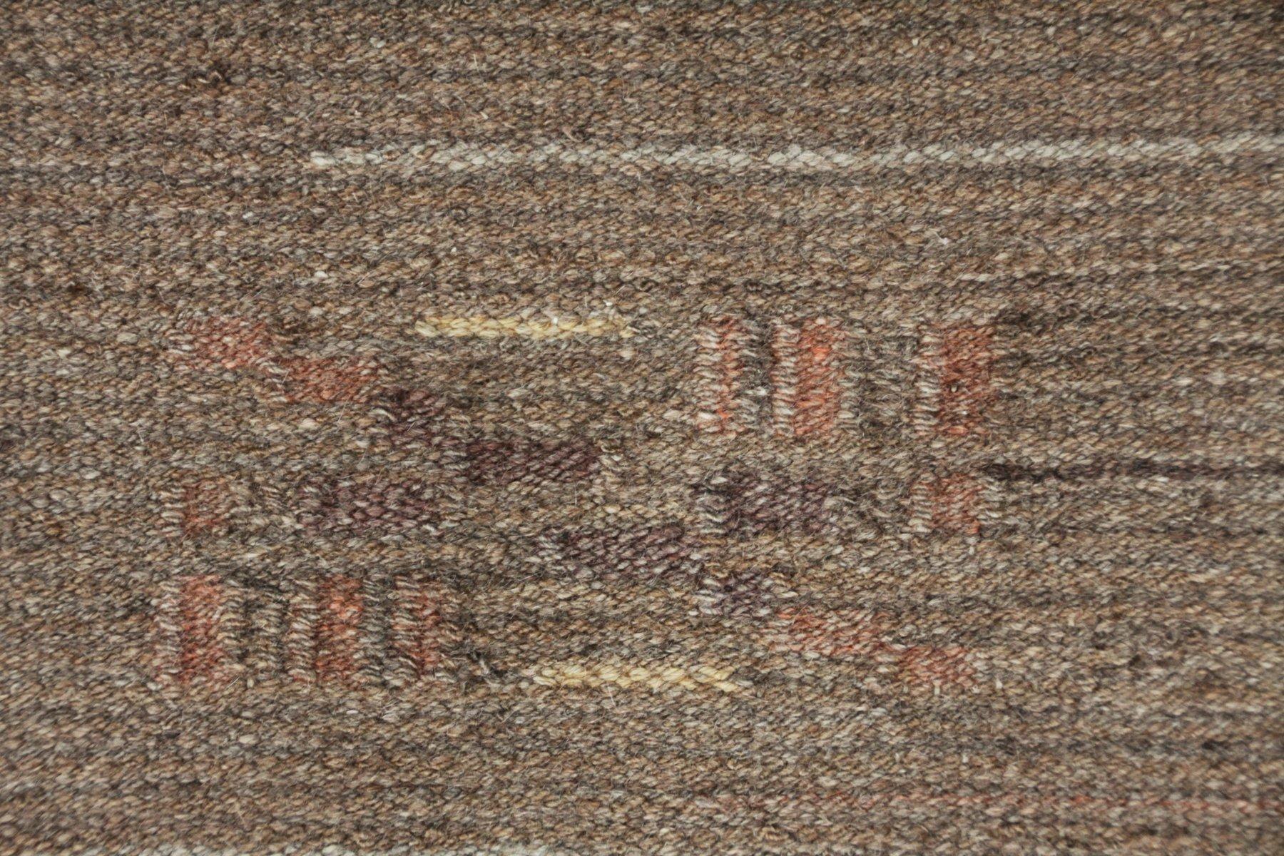 Finnischer art deco flachgewebe teppich 1930er bei pamono - Art deco teppich ...