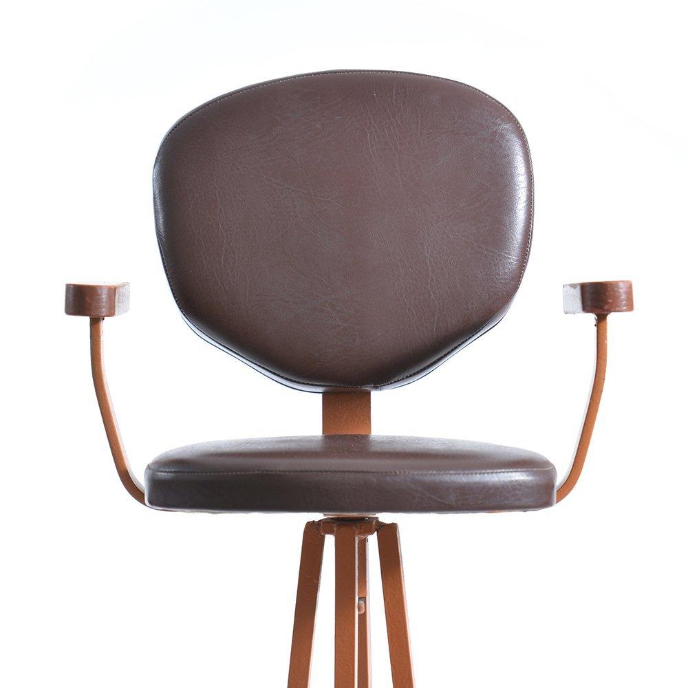 chaise haute d 39 enfant en m tal et en bois r publique tch que 1960s en vente sur pamono. Black Bedroom Furniture Sets. Home Design Ideas