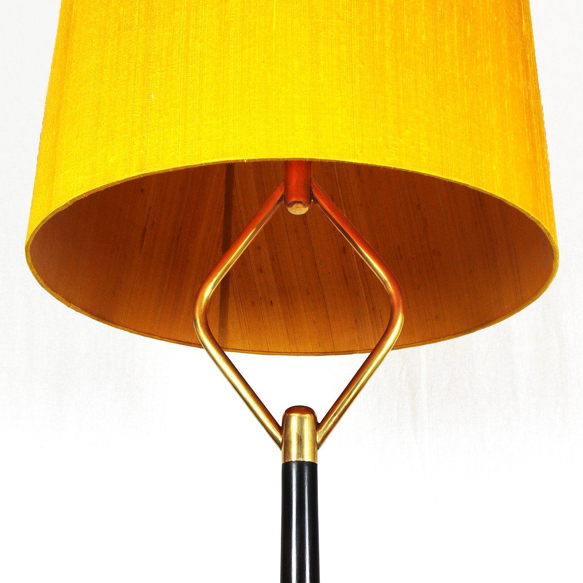 italienische mahagoni stehlampe 1940er bei pamono kaufen. Black Bedroom Furniture Sets. Home Design Ideas