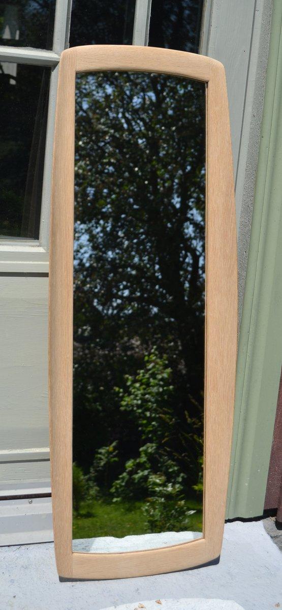 schwedischer spiegel mit eichenrahmen von sten uno kristiansson f r luxus 1952 bei pamono kaufen. Black Bedroom Furniture Sets. Home Design Ideas