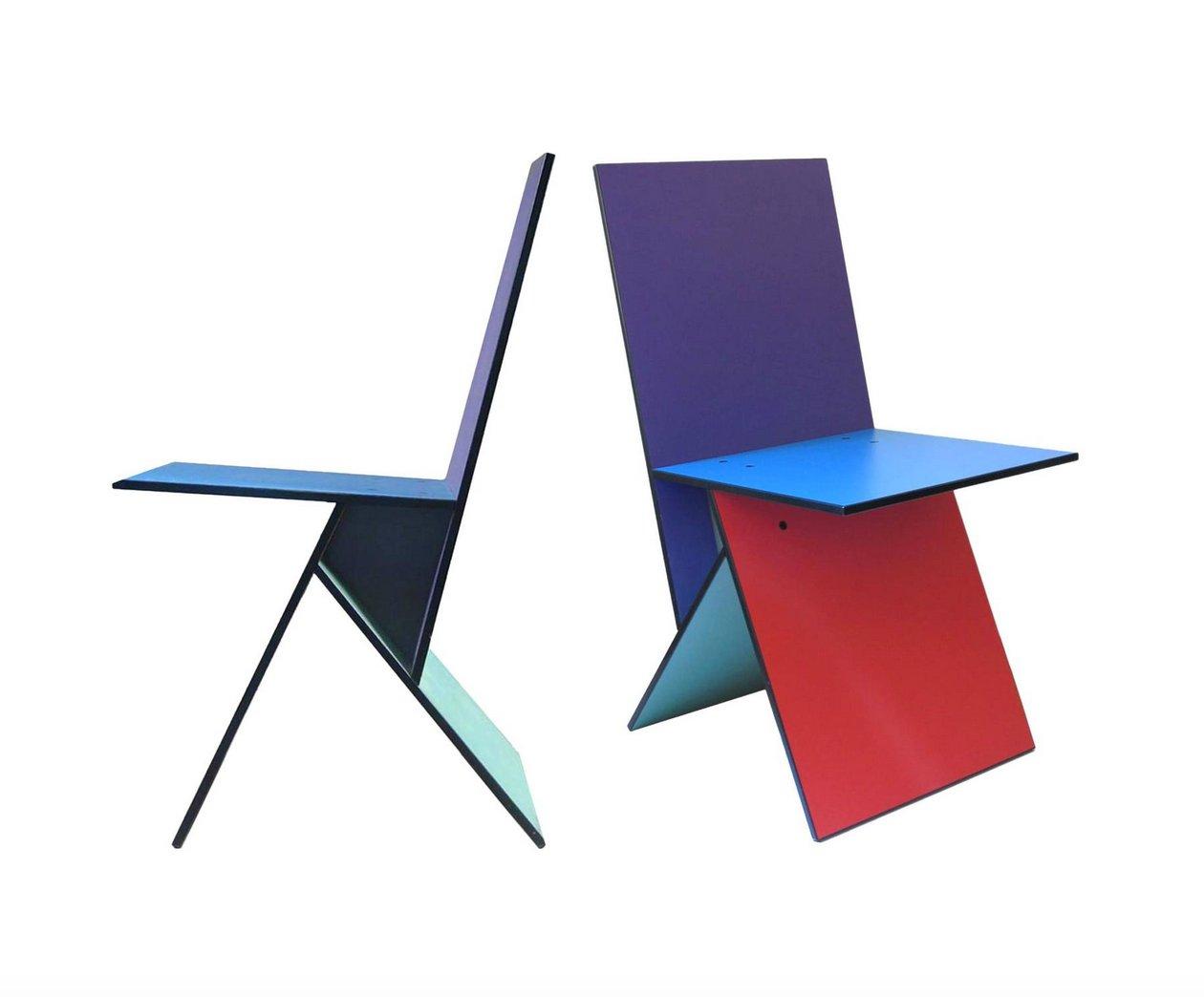 vilbert st hle von verner panton f r ikea 1993 2er set. Black Bedroom Furniture Sets. Home Design Ideas
