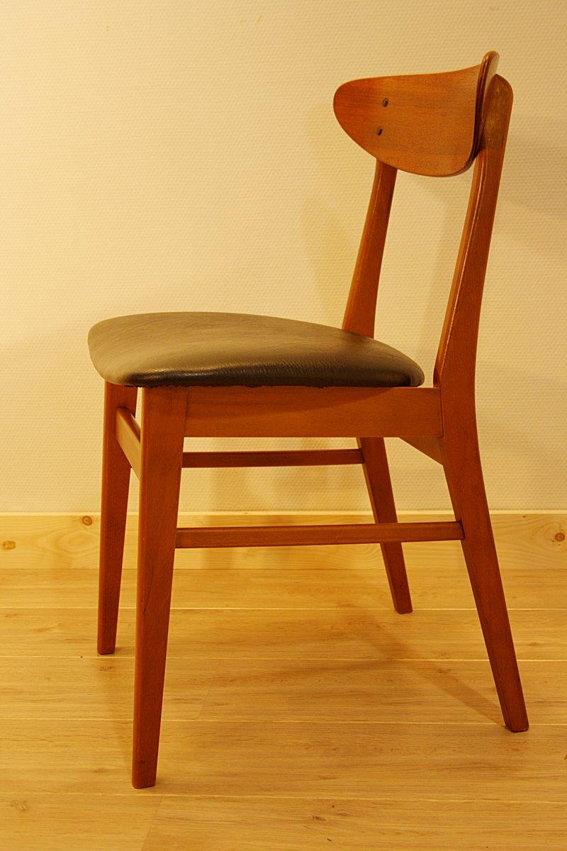 chaise de salon en teck de farstrup danemark 1960s en vente sur pamono. Black Bedroom Furniture Sets. Home Design Ideas