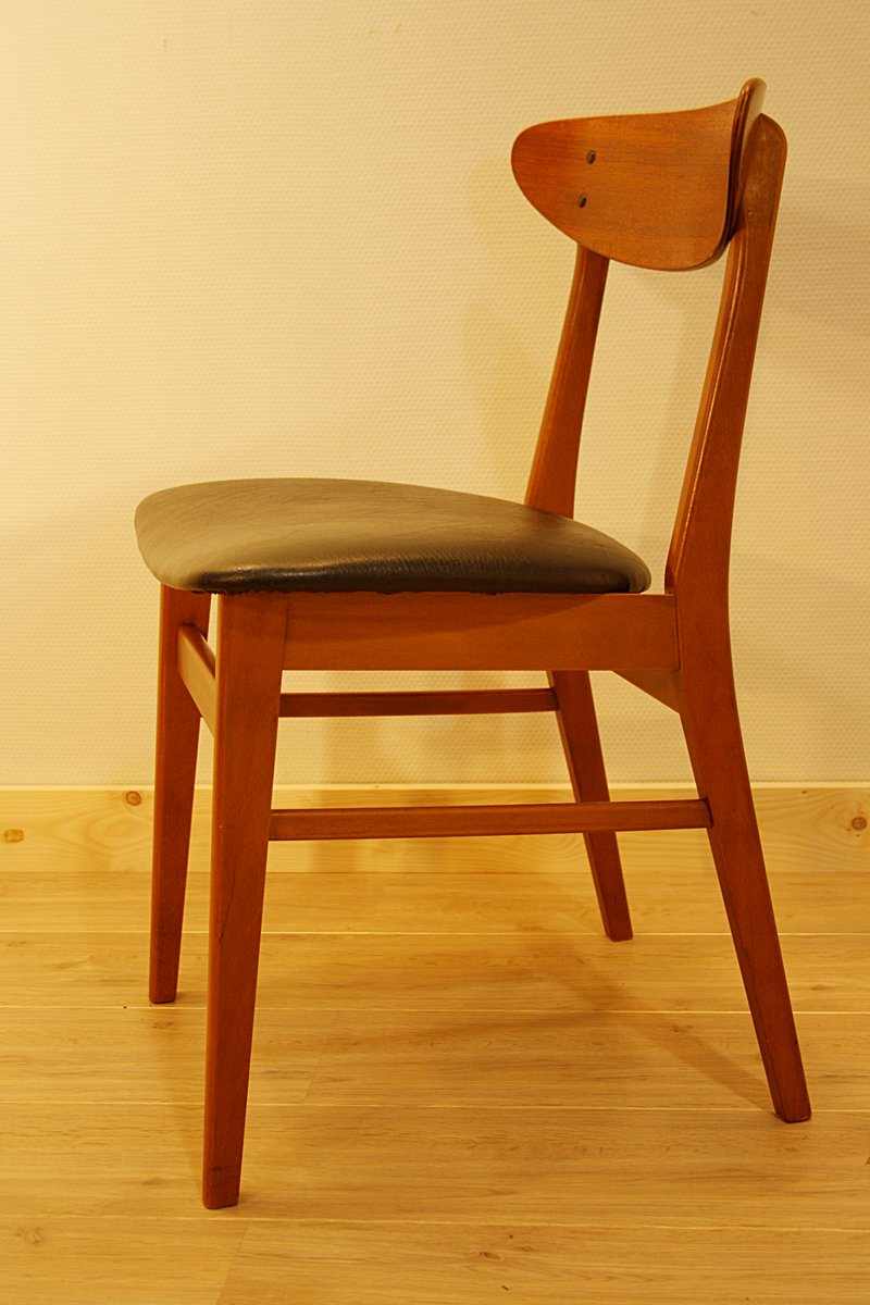 Danish Teak Dining Chair From Farstrup 1960s