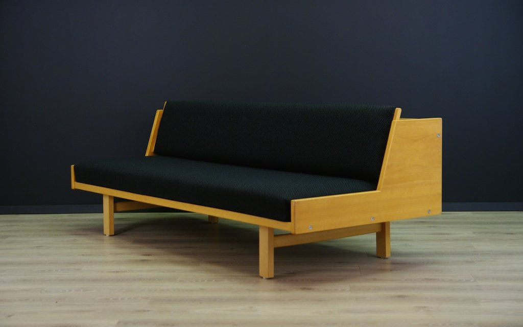 d nisches ge 258 schlafsofa von hans j wegner f r getama 1980er bei pamono kaufen. Black Bedroom Furniture Sets. Home Design Ideas
