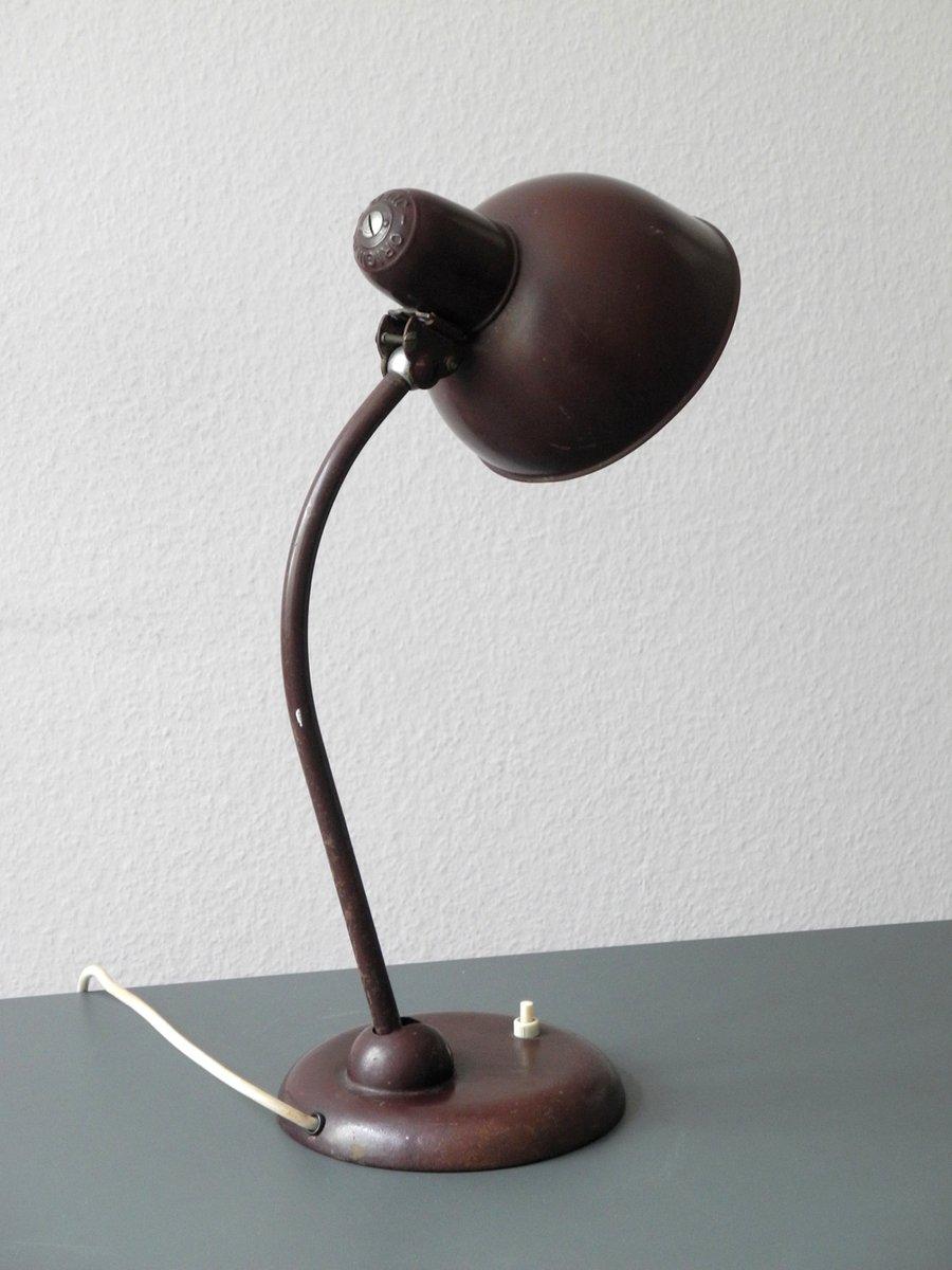 lampe de bureau mod le 6551 bauaus de kaiser idell en vente sur pamono. Black Bedroom Furniture Sets. Home Design Ideas