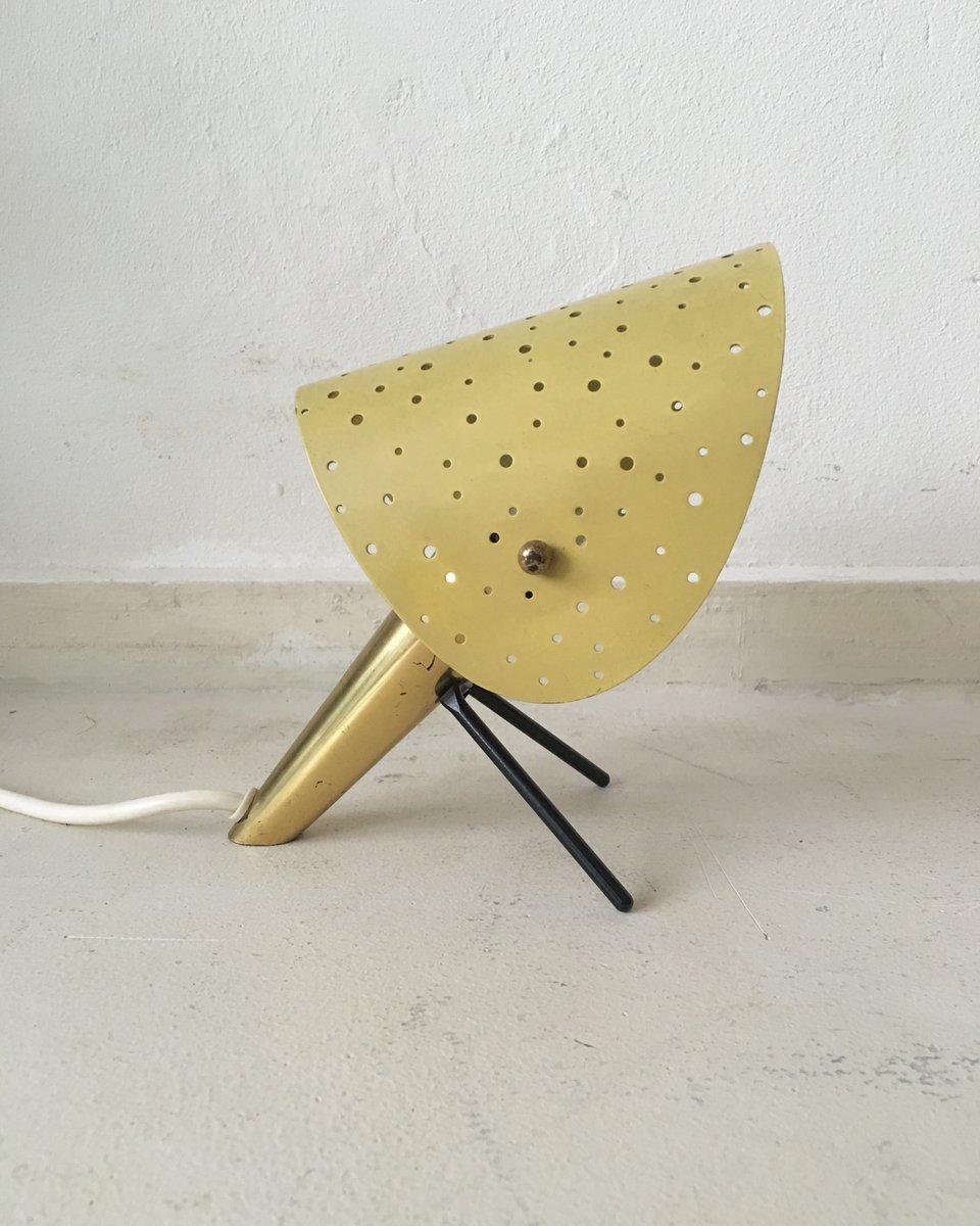 Italienische Vintage Tischlampe von Ernest Igl für Hillebrand