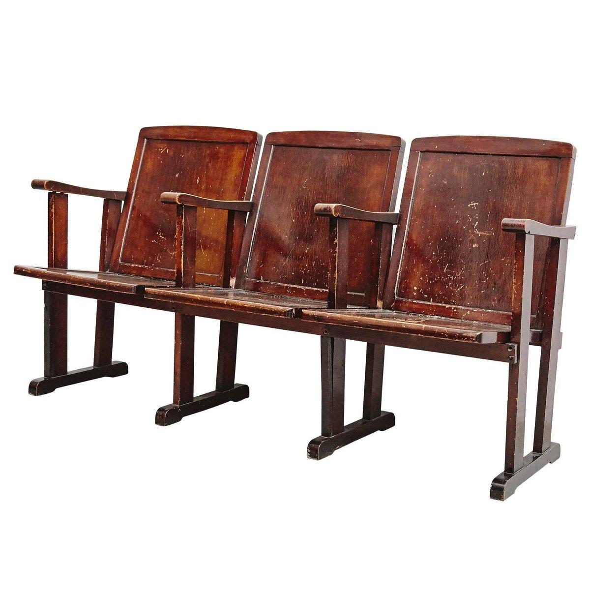 Drei-Sitzer Theater Sitzbank, 1920er