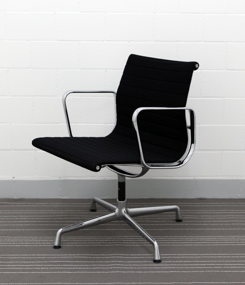 ea 108 aluminium chair by charles ray eames for vitra 1989 for sale at pamono. Black Bedroom Furniture Sets. Home Design Ideas