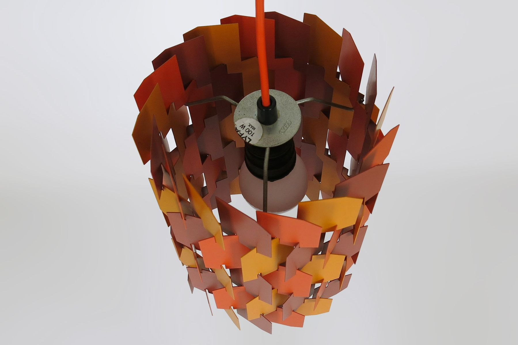 Facet Pop Pendant Light By Louis Weisdorf For Lyfa 1970 For Sale At Pamono