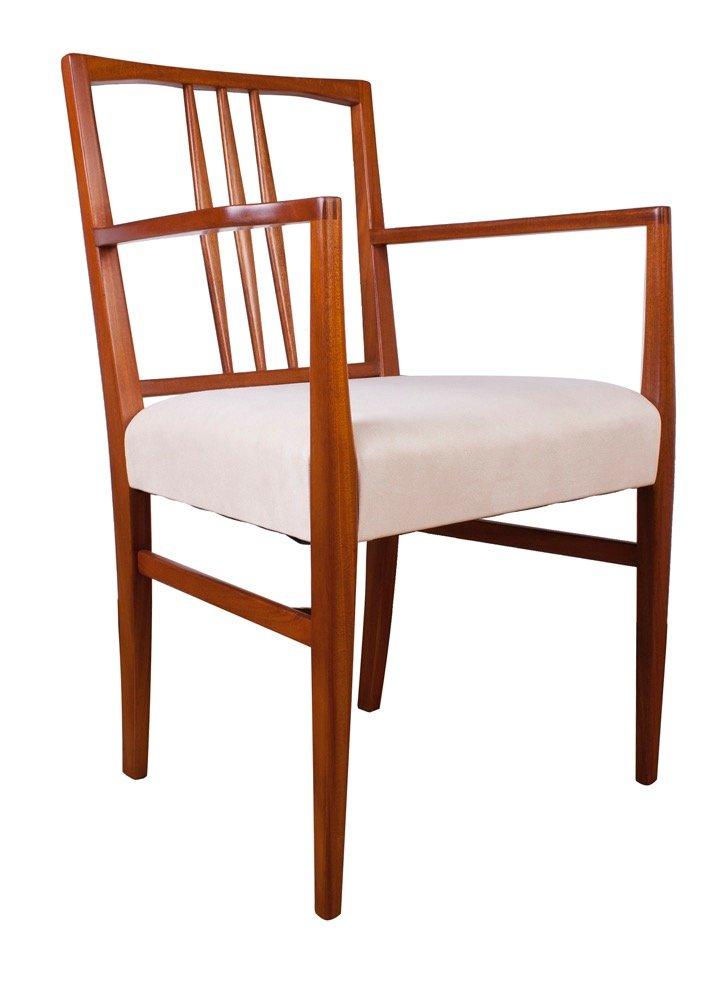 Tavolo da pranzo e sedie tulip in legno di gordon russell - Sedie tavolo da pranzo ...