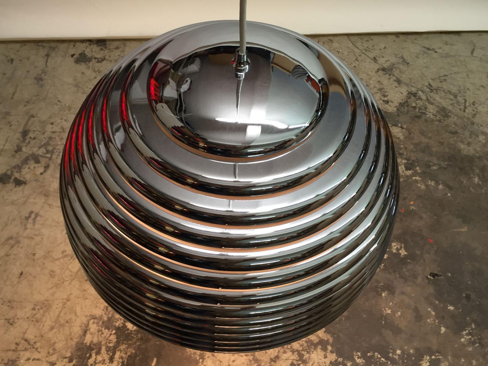 grande lampe saturno par kazuo moto pour staff allemagne