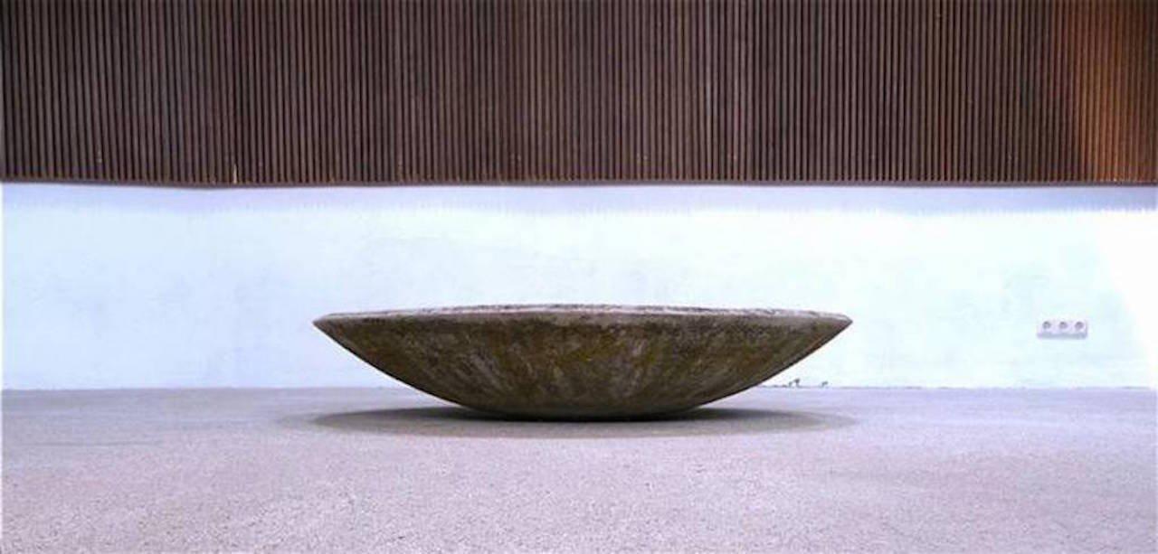 gro e pflanzenschale aus faserplatte bei pamono kaufen. Black Bedroom Furniture Sets. Home Design Ideas