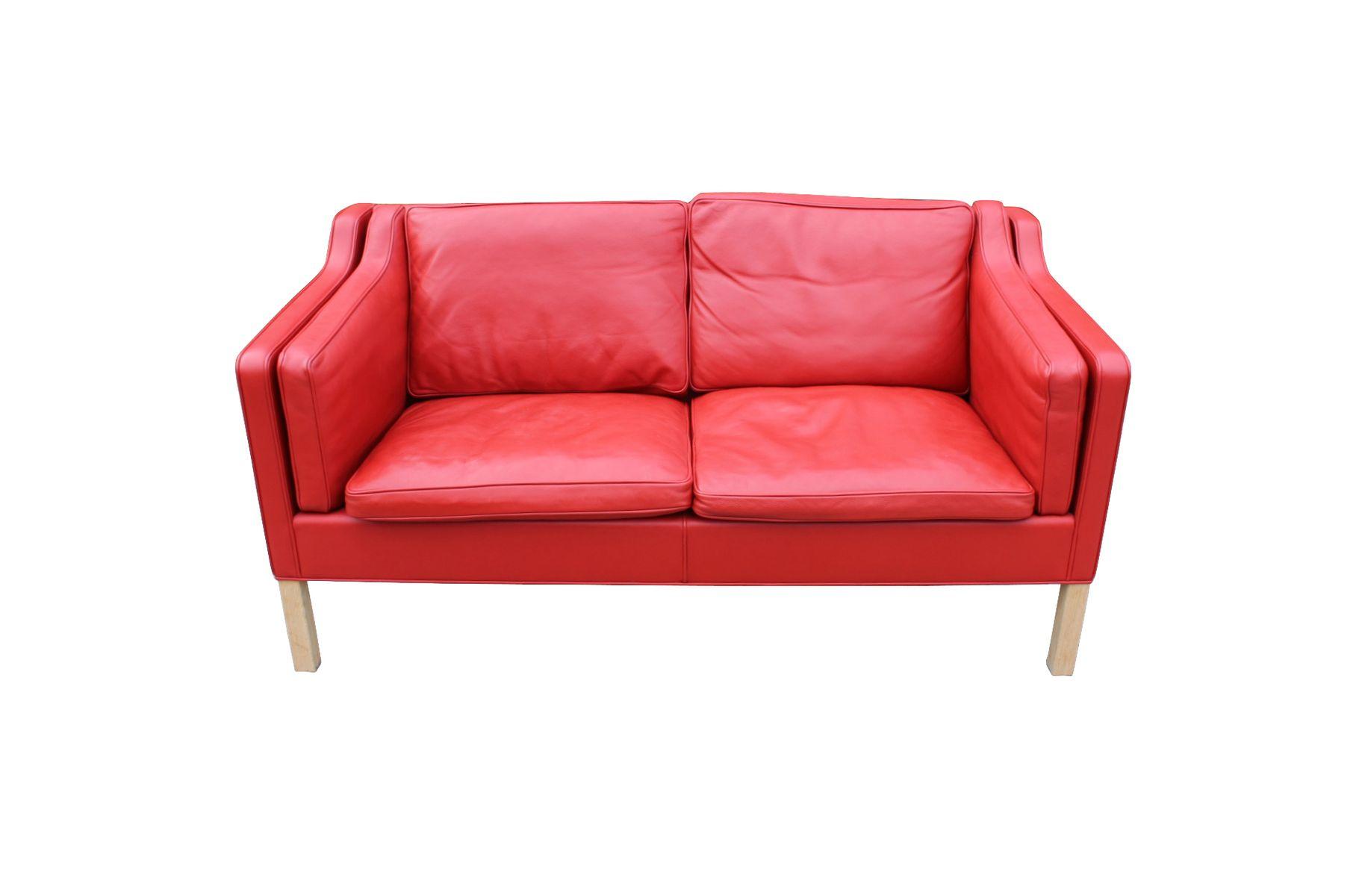 d nisches 2212 zwei sitzer sofa von b rge mogensen f r fredericia furniture 1980er bei pamono. Black Bedroom Furniture Sets. Home Design Ideas