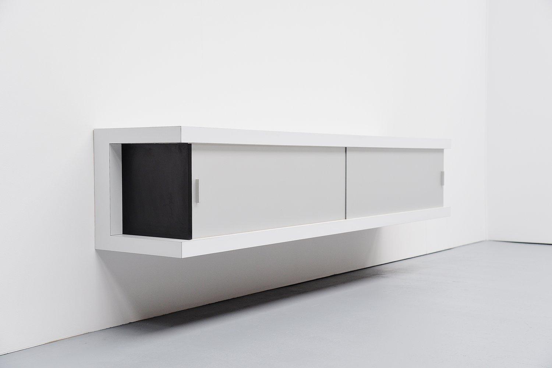 Bemerkenswert Weisses Sideboard Referenz Von Deutsches Schwebendes Weißes Von Horst Brüning Für