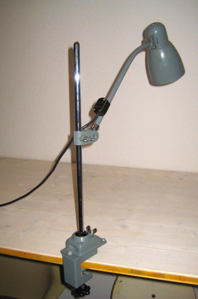Deutsche Verstellbare Vintage Bauhaus 6729 Lampe von Christian Dell fü...