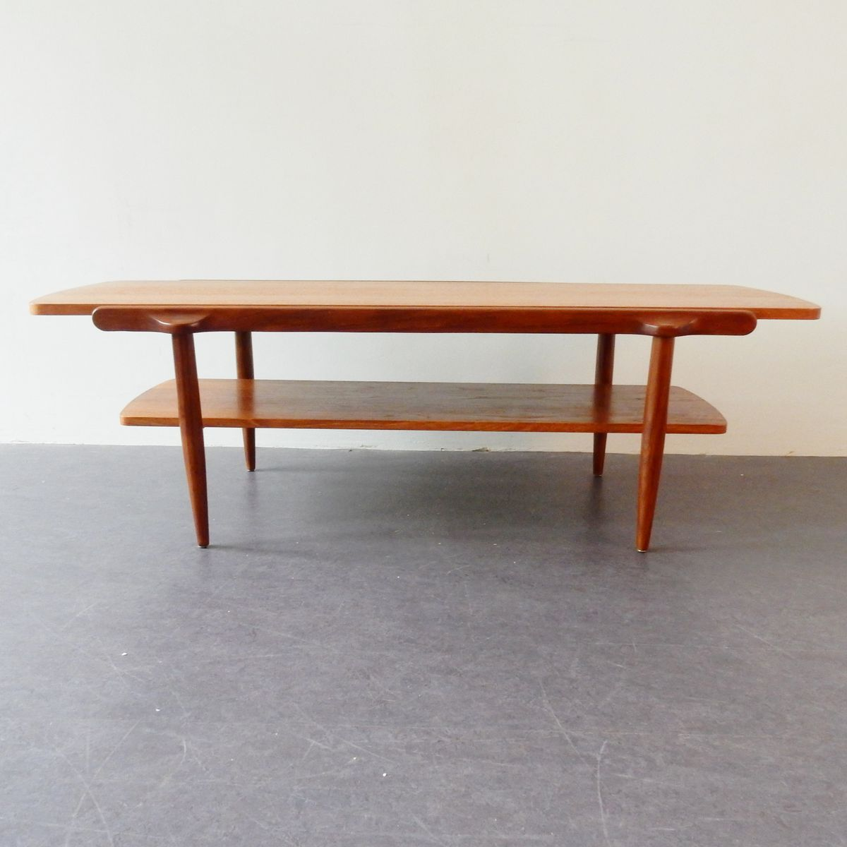 table basse avec dessus r versible 1960s en vente sur pamono. Black Bedroom Furniture Sets. Home Design Ideas