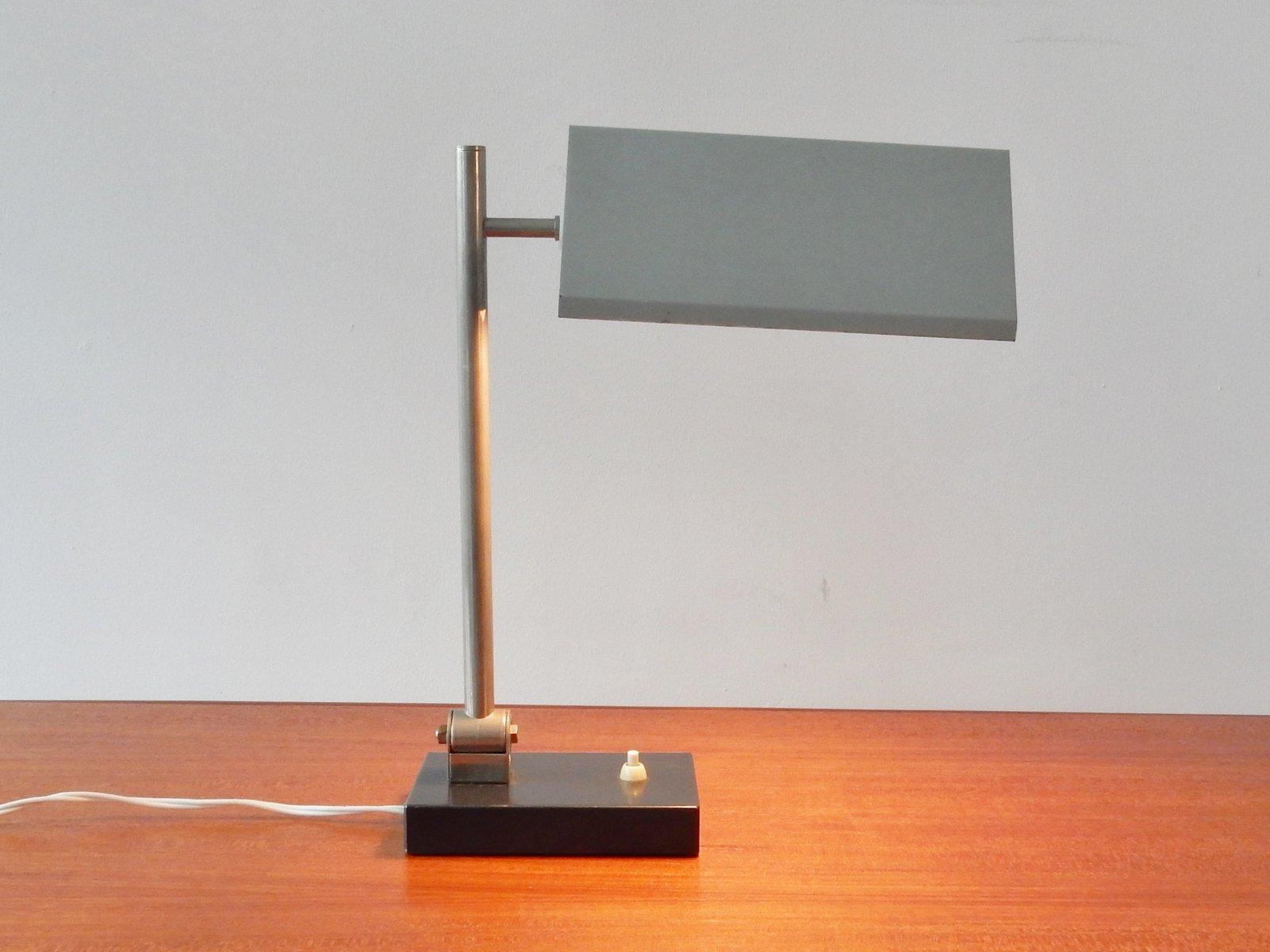 Niederländische Vintage Schreibtischlampe von H. Busquet für Hala, 195...