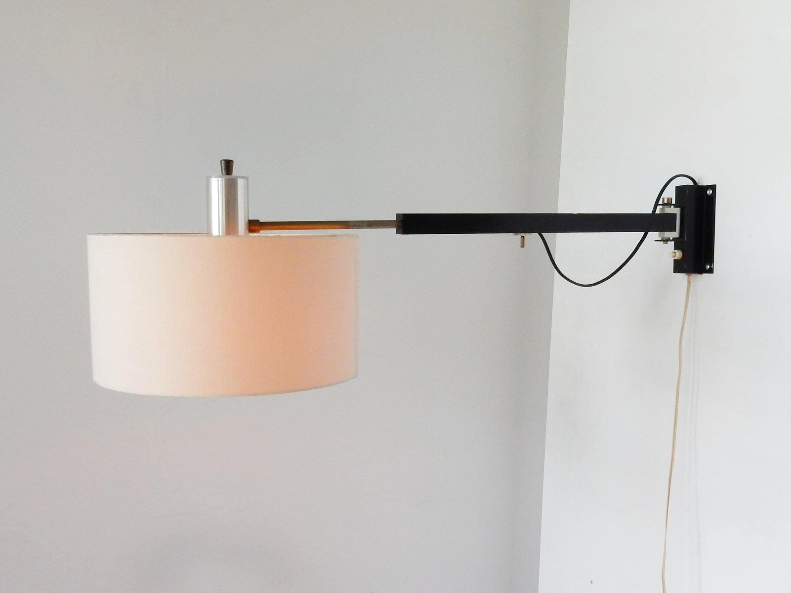 Drehbare Ausziehbare Vintage Wandlampe, 1960er