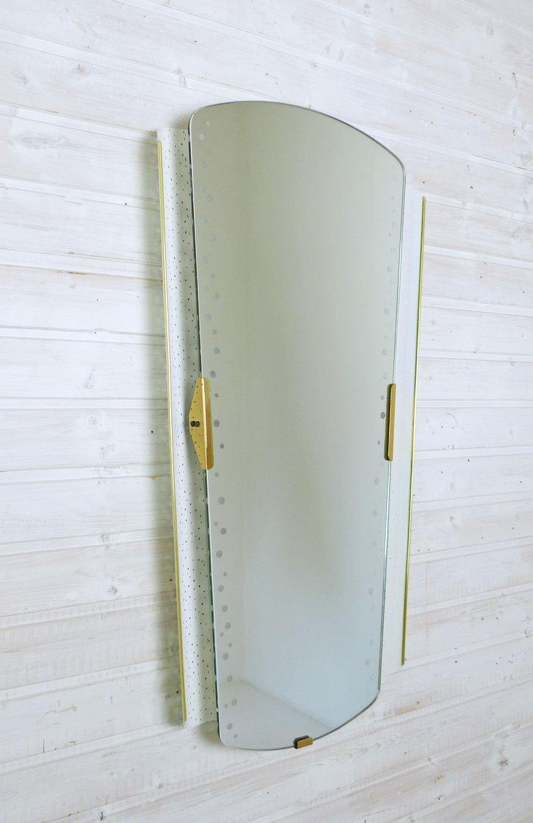 gro er lichtspiegel von ernest igl f r hillebrand leuchten bei pamono kaufen. Black Bedroom Furniture Sets. Home Design Ideas