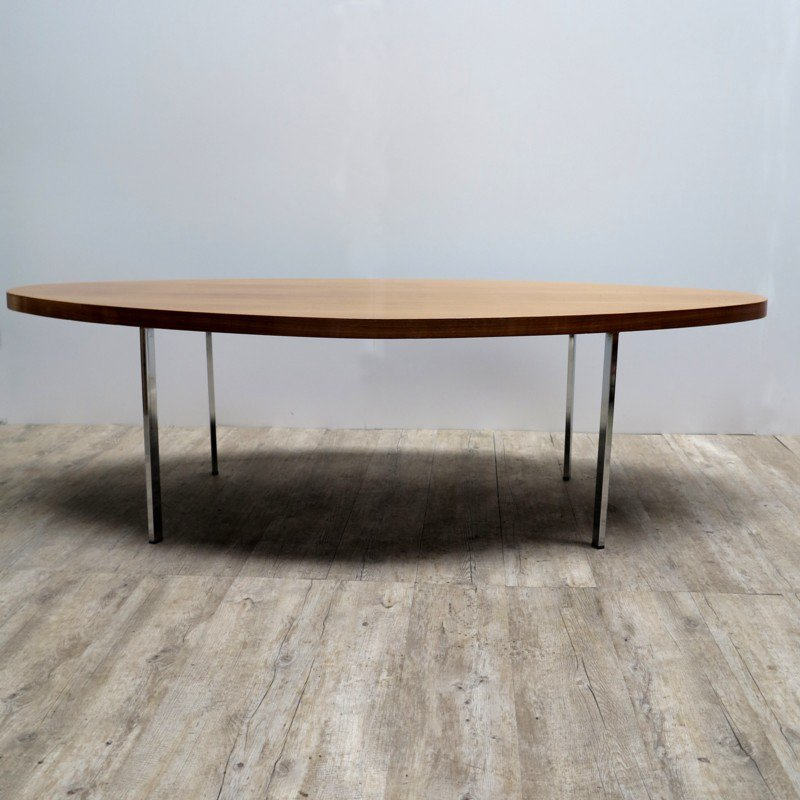 Vintage Oval Coffee Tables: Vintage Oval Coffee Table For Sale At Pamono